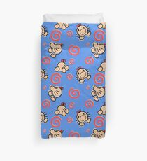 MR.SATURN , POING!! Duvet Cover