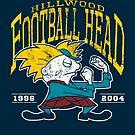 Football Head by Stephen Hartman