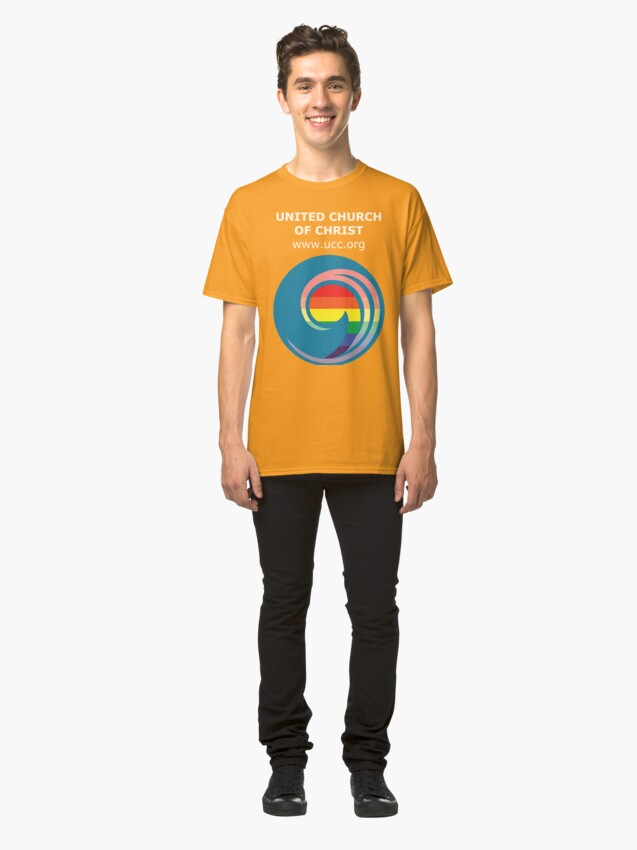 Alternate view of 3 Great Loves - Pride Comma Classic T-Shirt