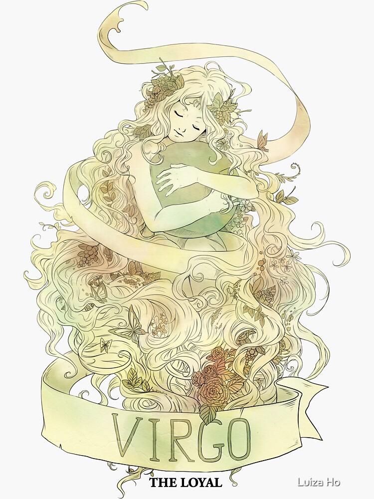 Virgo, The Loyal by teapotsandhats