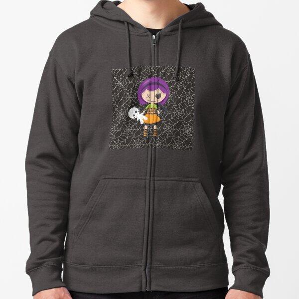 Violet Voodoo Zipped Hoodie