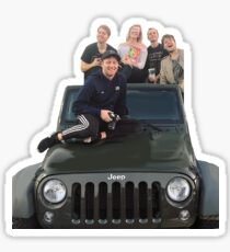 shane dawson squad Sticker