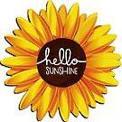 Hello Sunflower by Hannahj-33