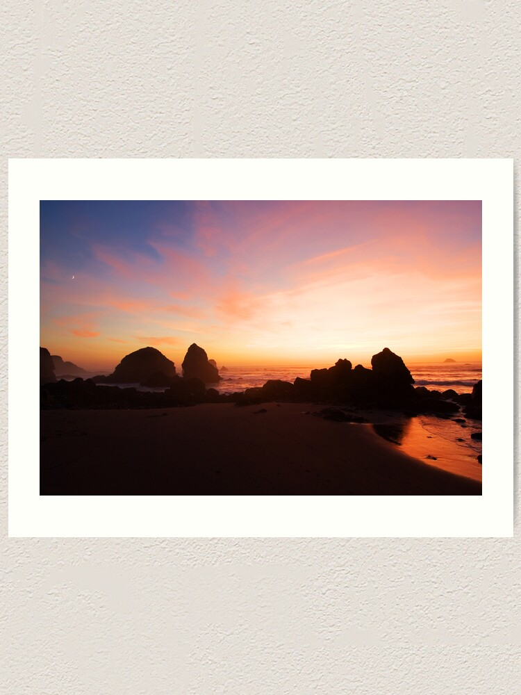 Alternate view of Pacific Radiance Art Print