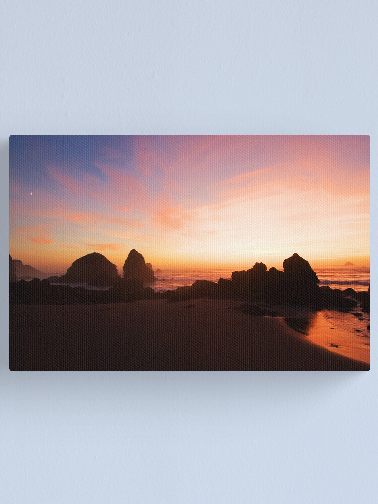 Alternate view of Pacific Radiance Canvas Print