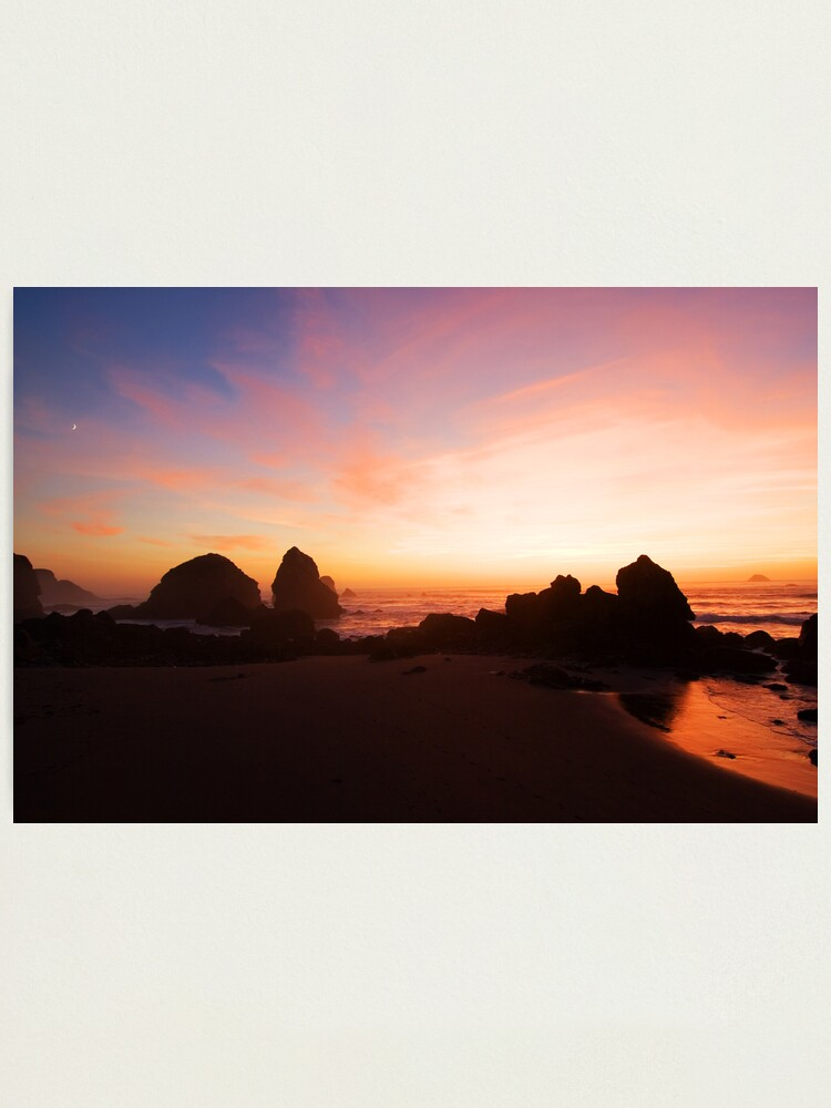 Alternate view of Pacific Radiance Photographic Print