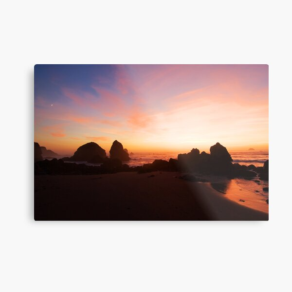 Pacific Radiance Metal Print