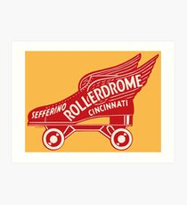 Sefferino Rollerdrome Art Print