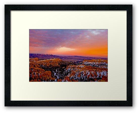 Bryce Canyon Sunset 2 by photosbyflood