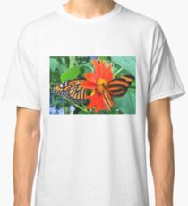 """Double Butterfly Love"", Photo / Digital Painting Classic T-Shirt"