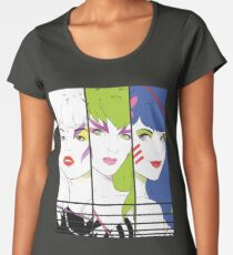 Our Songs Are Better! (Without Saxophone) Women's Premium T-Shirt