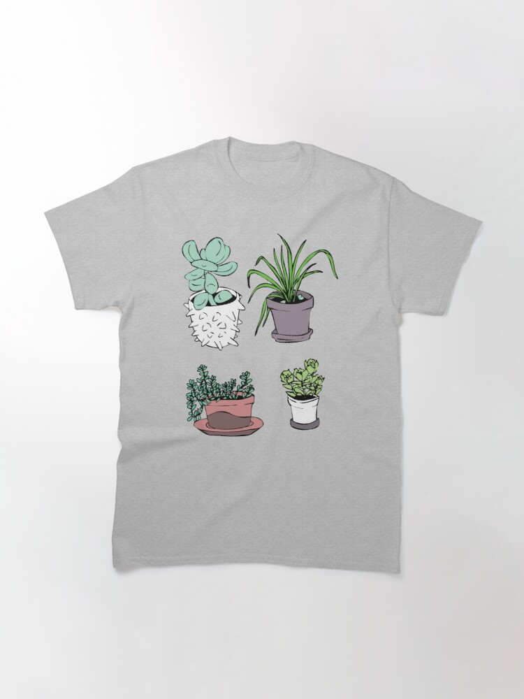 Alternate view of Succulents, Potted Plants Classic T-Shirt