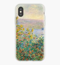 Flower Beds at Vetheuil iPhone Case