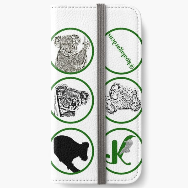 Koala mosaics iPhone Wallet