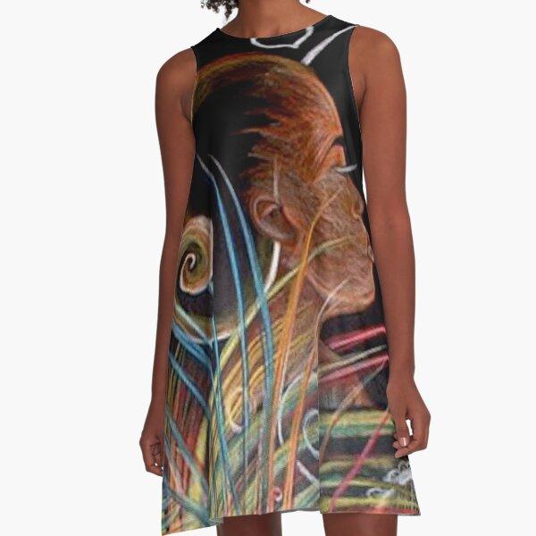 Earth - Haitian Island Spirits 01 A-Line Dress