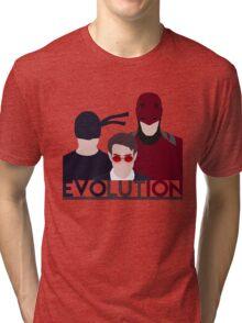 DareDevil 2015 Tv Show - EVOLUTION Tri-blend T-Shirt