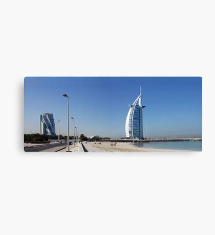 Burj Al Arab, Jumeirah-Beach, Dubai Canvas Print