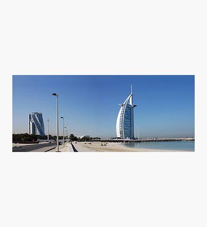 Burj Al Arab, Jumeirah-Beach, Dubai Photographic Print