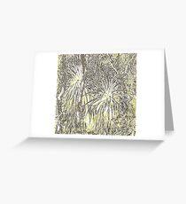 Pandani (1) Olivgrün Grußkarte