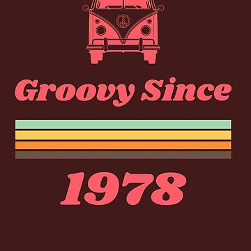 Vintage 1978 40th Birthday Gift, 40th Birthday Tshirt 1978 by SABRA11