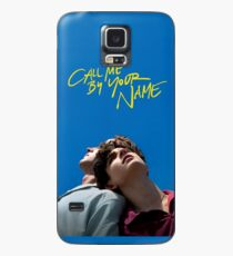 Call me by your name poster Case/Skin for Samsung Galaxy