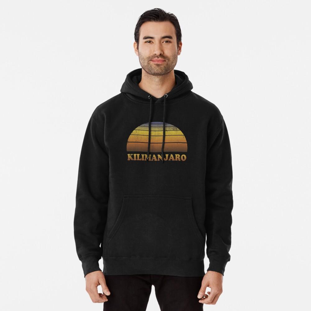 Vintage Kilimanjaro Sonnenuntergang Shirt Hoodie