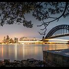 Sydney Harbour Underliner by STEPHEN GEORGIOU PHOTOGRAPHY