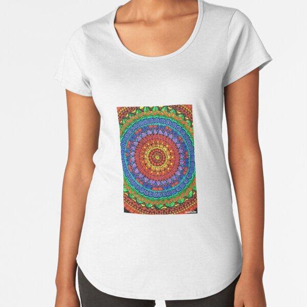 Crazy about Mandala? Premium Scoop T-Shirt