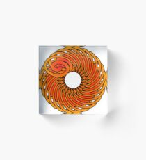 Artistic Abstract Graphic Design Acrylic Block