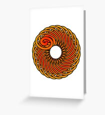 Artistic Abstract Graphic Design Greeting Card