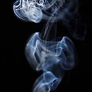 Smoke Rorschach - what do you see? (14) by Wolf Sverak