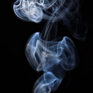 Smoke Rorschach - what do you see? (14) by ausigreybear