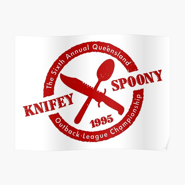 Knife Spoony Poster