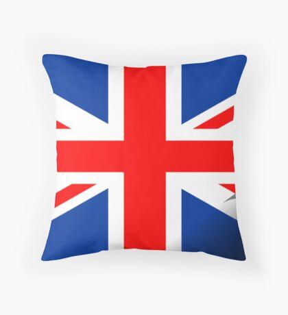 Inside UK Throw Pillow
