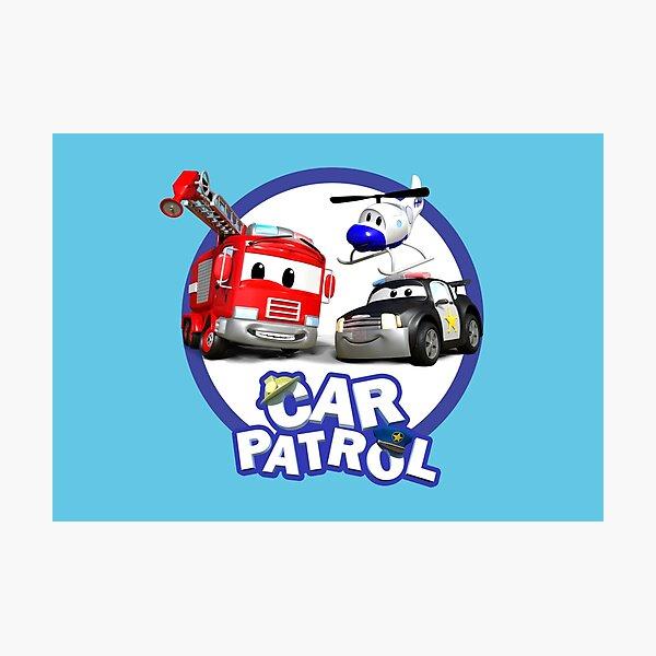 Car Patrol of Car City Photographic Print