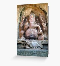 Sri Ganesh Greeting Card