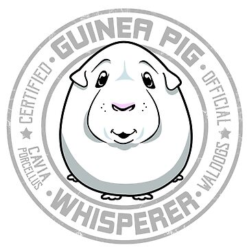 Guinea Pig Whisperer White by waldogs
