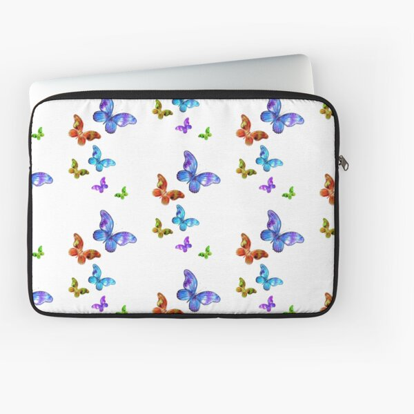 Butterfly Rainbow Chain Laptop Sleeve
