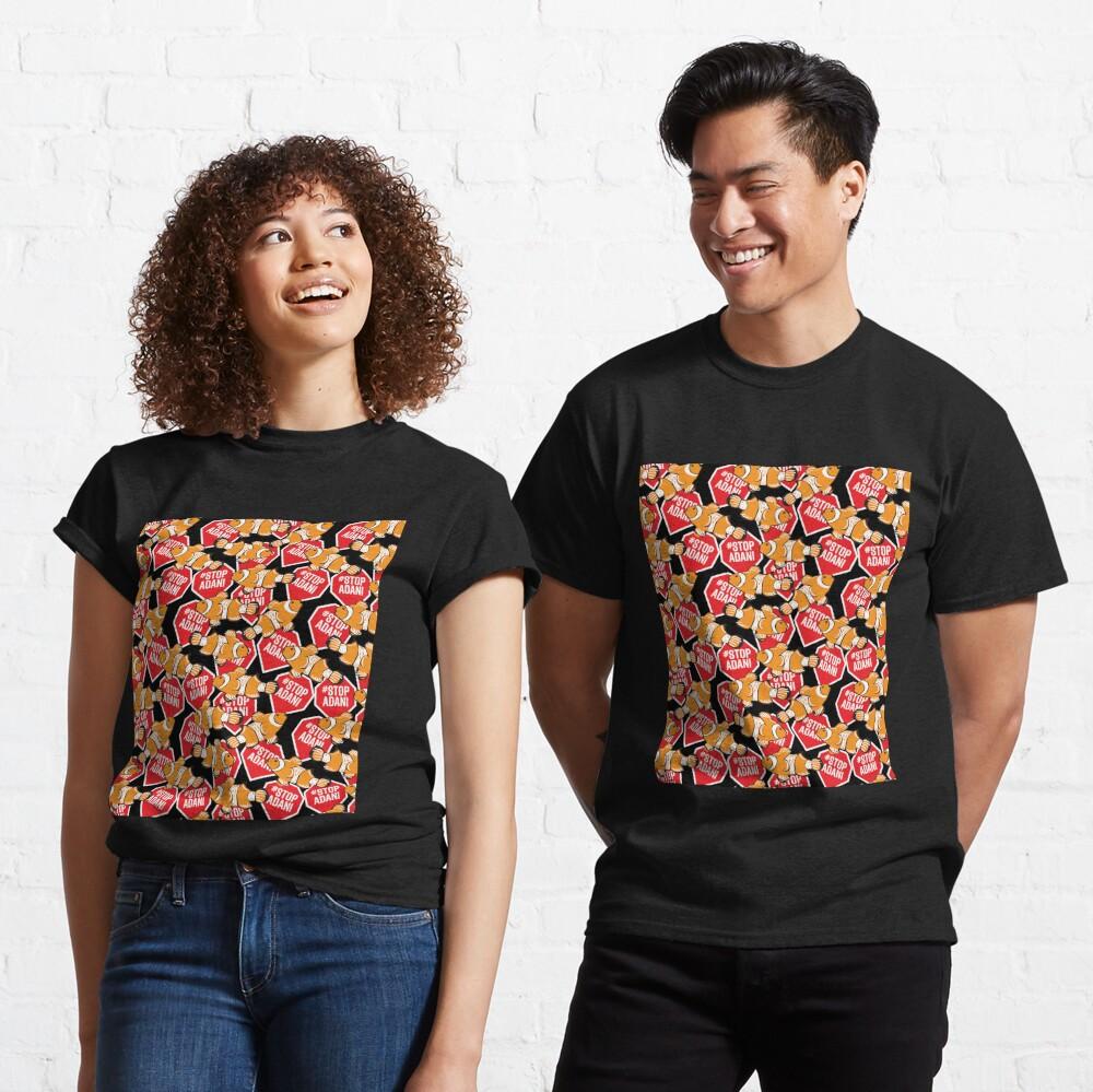 #StopAdani, not Nemo! Black background  Classic T-Shirt