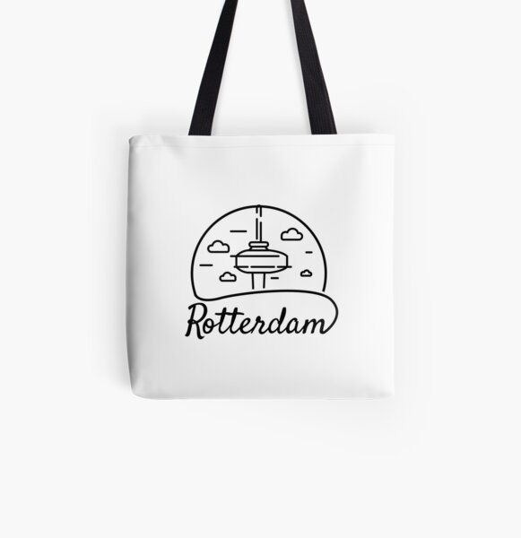 Rotterdam and the euromast All Over Print Tote Bag