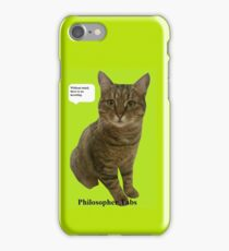 Philosopher Tabs iPhone Case/Skin
