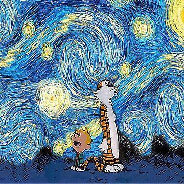 Calvin Hobbes by CatherinHawrt10
