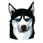 Husky Doggo by BeatriceCanova