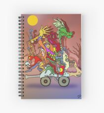 Fantasticated Transportation Authority Spiral Notebook