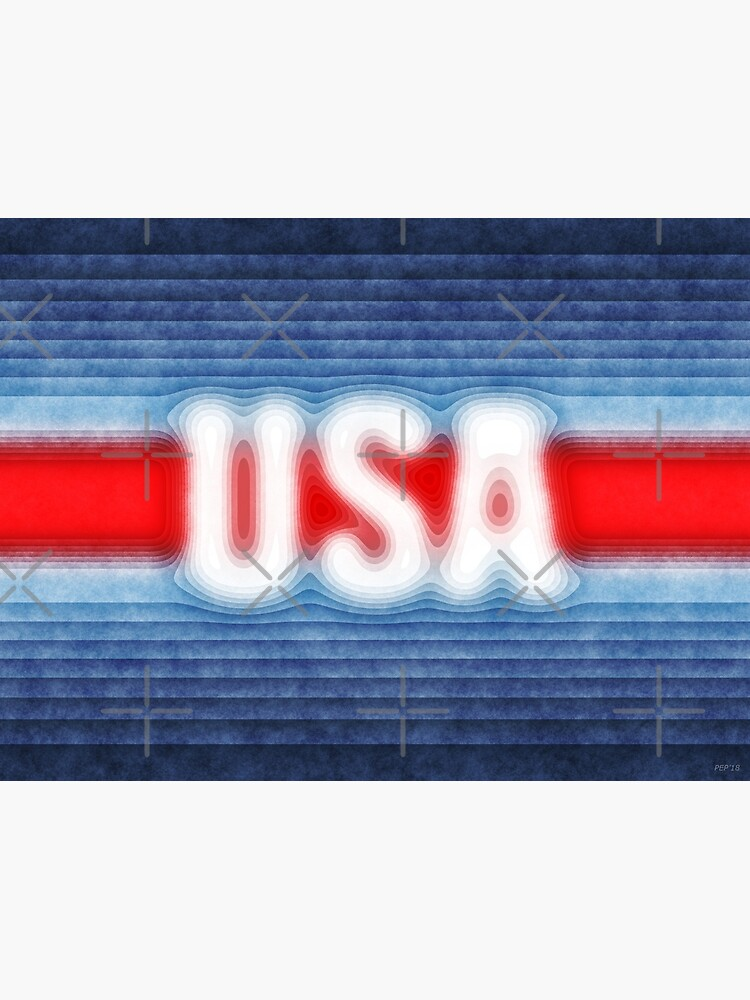 USA Typography by morningdance