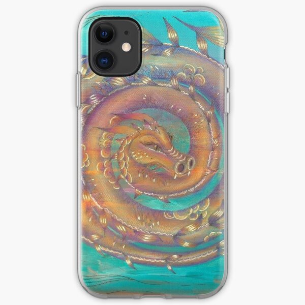 Dragon Spiral iPhone Soft Case