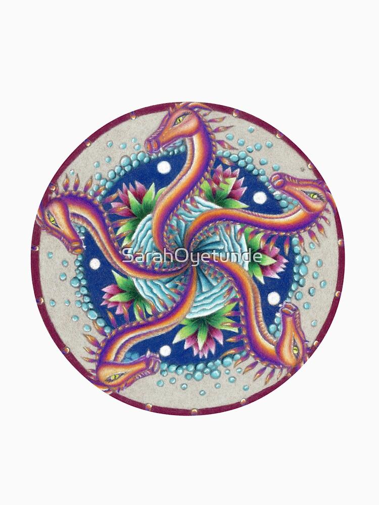 Dragon Dance Mandala by SarahOyetunde