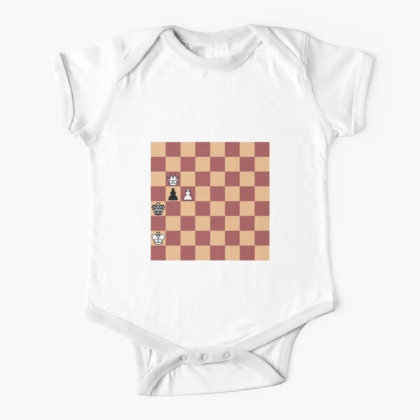 #Chess #PlayChess #ChessPiece #ChessSet, chess master Short Sleeve Baby One-Piece