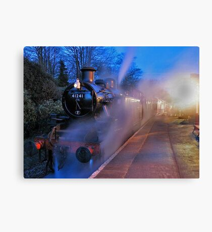 Evening Train Canvas Print