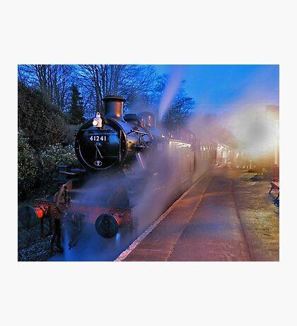 Evening Train Photographic Print